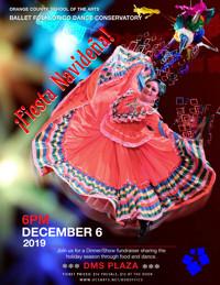 """OCSA Ballet Folklórico """"Fiesta Navidena"""" in Costa Mesa"""
