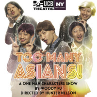 TOO MANY ASIANS! A ONE MAN CHARACTERS SHOW BY WOODY FU in Off-Off-Broadway