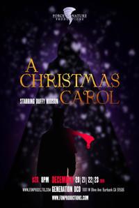A Christmas Carol Starring Duffy Hudson in Los Angeles