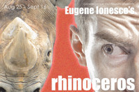 RHINOCEROS by Eugene Inonesco in Cleveland
