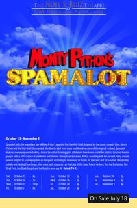 Monty Python's Spamalot at The Noel S. Ruiz Theatre in Broadway