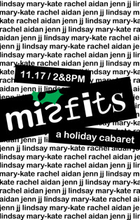 Misfits: A Holiday Cabaret in Off-Off-Broadway