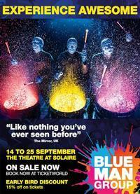 Blue Man Group in Philippines