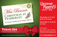 Miss Bennet: Christmas at Pemberley in Toronto