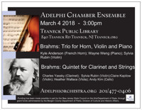 Adelphi Orchestra - Adelphi Chamber Ensemble in New Jersey