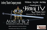 Henry IV, parts 1 & 2 in Broadway