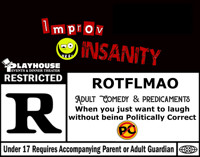 Adult Comedy Nite feat Improv Insanity in Off-Off-Broadway