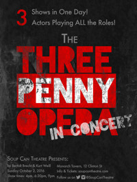 THE THREEPENNY OPERA: In Concert - One Day Only! in Toronto