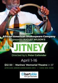 August Wilson's JITNEY in San Francisco