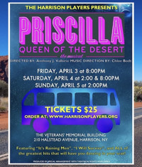 Priscilla Queen Of The Desert in Rockland / Westchester