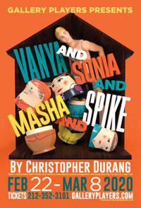 Vanya and Sonia and Masha and Spike in Off-Off-Broadway