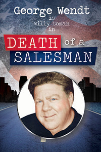 George Wendt in Death of a Salesman in Broadway