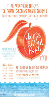 James & the Giant Peach TYA in Rockland / Westchester