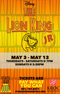 The Lion King Jr. in Memphis