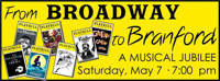 From Broadway to Branford in Connecticut