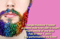 Triangle Rainbow Productions LGBTQ Short Play Festival 2021 in Toronto