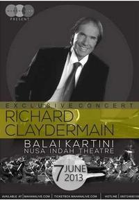 Richard Clayderman Exclusive Concert Jakarta in Indonesia
