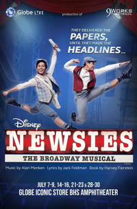 NEWSIES in Broadway