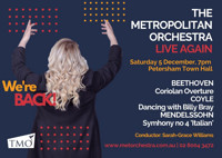 The Metropolitan Orchestra back LIVE In Concert in Australia - Sydney
