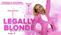LEGALLY BLONDE in Norway