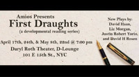 First Draughts - Reading Series This Month in Other New York Stages