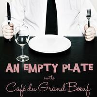 An Empty Plate in the Cafe du Grand Boeuf in Broadway