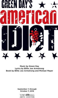 Green Day's American Idiot in Broadway
