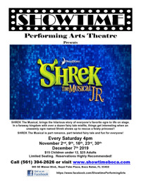 SHREK The Musical jr. in Fort Lauderdale