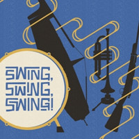 Swing, Swing, Swing! in Buffalo Logo