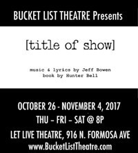 [title of show] in Broadway