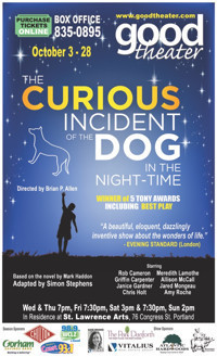 The Curious Incident of the Dog in the Night-Time in Maine