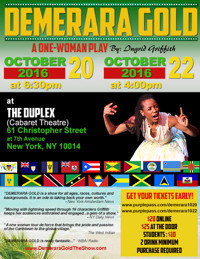Demerara Gold in Other New York Stages