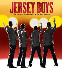 Jersey Boys in Broadway