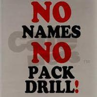 No Names, No Pack Drill in Australia - Perth