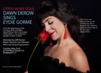 GYPSY IN MY SOUL:  Dawn Derow Sings Eydie Gormé in Connecticut