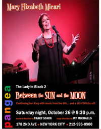 THE LADY IN BLACK 2: BETWEEN THE SUN AND THE MOON in Cabaret