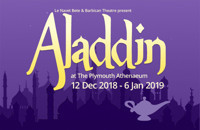 Le Navet Bete's Aladdin in UK / West End