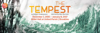The Tempest by William Shakespeare in Boston