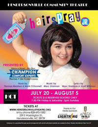 Hairspray Jr. in Raleigh