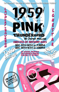 1959 Pink Thunderbird by James McLure in Rhode Island