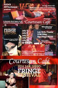 San Diego Fringe: Courtesan Cafe in Broadway