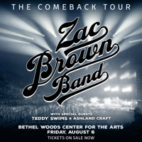 Zac Brown Band in Rockland / Westchester