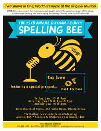 25th Annual Putnam County Spelling Bee in Connecticut