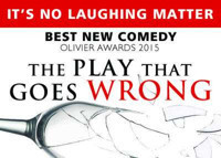 THE PLAY THAT GOES WRONG in Broadway