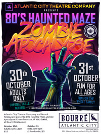 80's Haunted Maze (Zombie Apocalypse!) in New Jersey