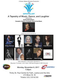 Supporting Cast - A Tapestry of Music, Dance and Laughter in Toronto