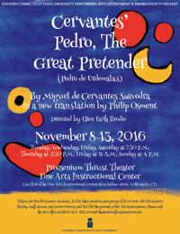 Pedro, the Great Pretender in Broadway