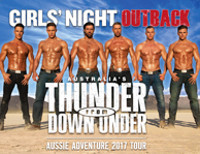 Australia?s Thunder from Down Under in Broadway