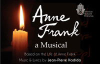 ANNE FRANK, a musical in Central New York