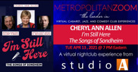 CHERYL ANN ALLEN ~ I'm Still Here The Songs of Sondheim in Long Island